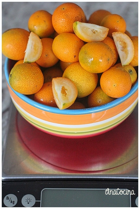 Mermelada de kumquats
