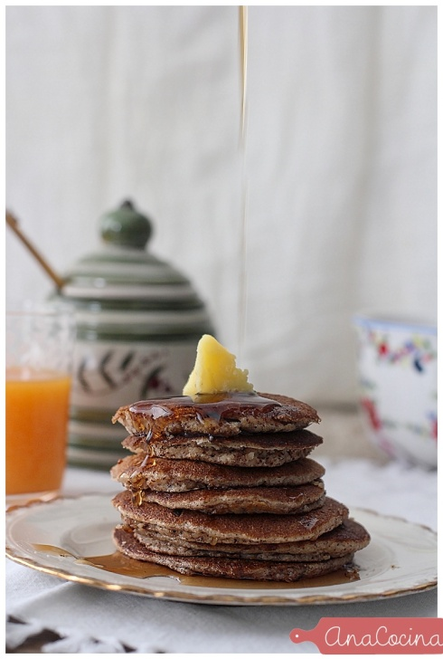 Pancakes de almendras