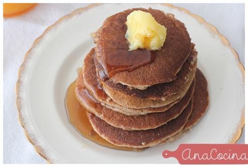 Pancakes de almendras - sin gluten