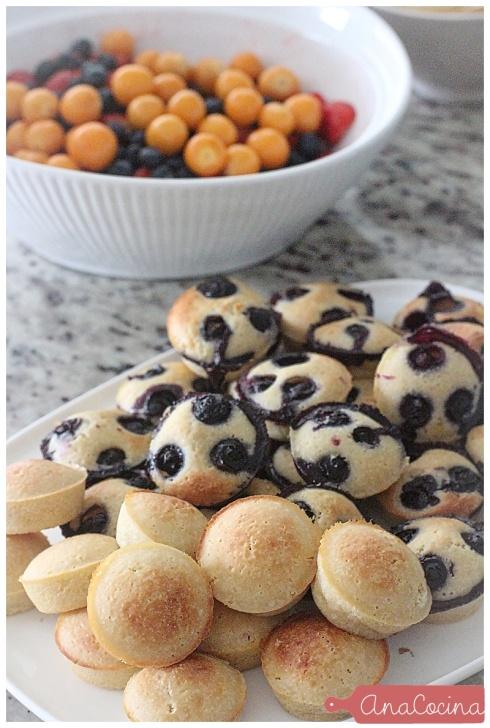 muffins de pancake